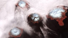 Wulkan na Alasce wybucha od dwóch miesięcy