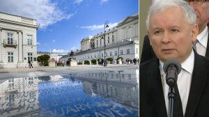 Prezes PiS ogłosił powstanie dwóch pomników smoleńskich