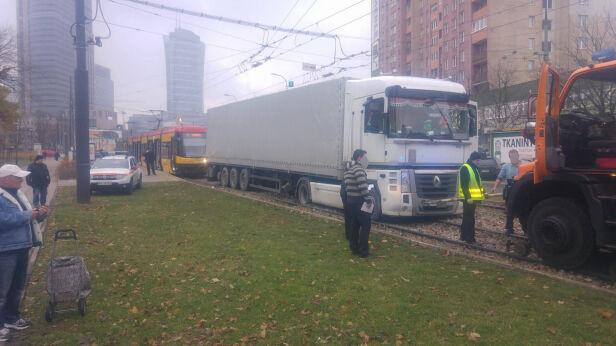 Ciężarówka na torach Aleksander