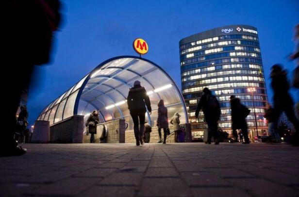 W weekend metro pojedzie na skróconej trasie ZTM