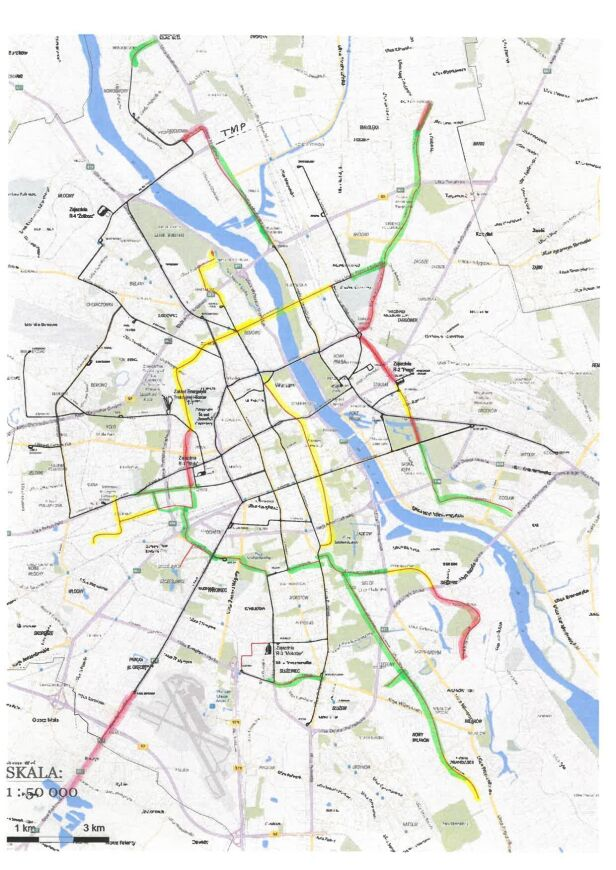 Ocena tras tramwajowych proponowanych przez Jakiego Wojciech Bartelski / Facebook