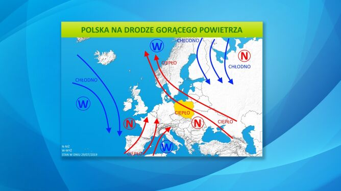 Polska na drodze gorącego powietrza