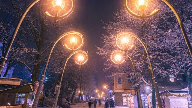 Zimowe Zakopane urzeka. <br />Zobacz to na zdjęciach