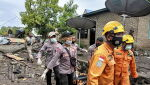 Powodzie w Indonezji (PAP/EPA/ROY RG)
