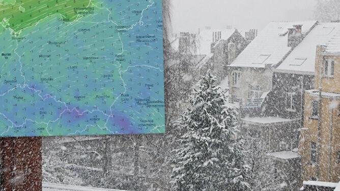Pogoda na pięć dni: szykujmy się na opady śniegu. Miejscami intensywne