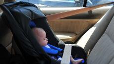 Łatwa ofiara upałów? Dziecko w nagrzanym samochodzie
